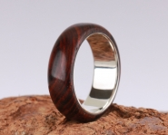 2nd Edition Cocobolo Holzring