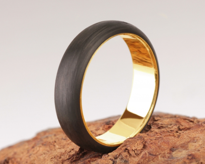 2nd Edition Carbon Gold Ring