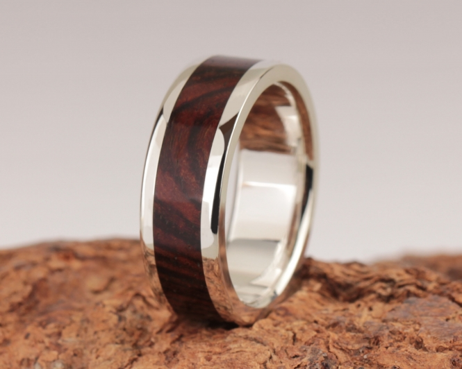 3rd Edition Cocobolo Holzring